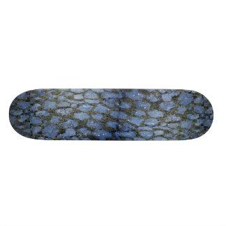 Paved stone with grass Photo Skate Board Decks