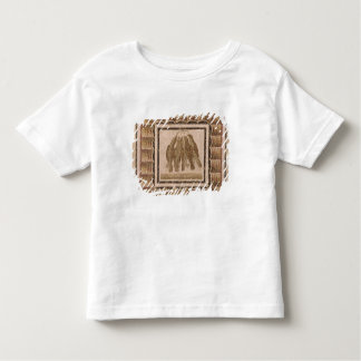 Pavement depicting five thrushes, from El-Jem Toddler T-Shirt