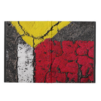 Pavement Road Paint Art - Cool - Fun iPad Air Cover