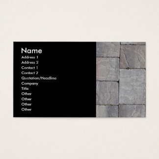 Pavers Business Card