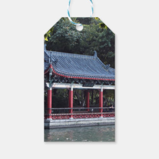 Pavilion, Lake Ronghu, Guilin, China Gift Tags