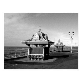 Pavilions, North Promenade B/W Postcard