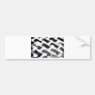 paving pattern bumper sticker