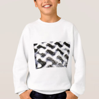 paving pattern sweatshirt