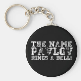 Pavlov Basic Round Button Key Ring
