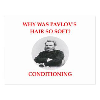 pavlov postcard
