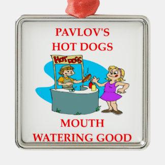 PAVLOV Silver-Colored SQUARE DECORATION