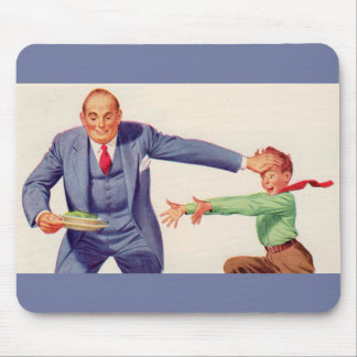 Pavlov's creamed spinach mouse pad