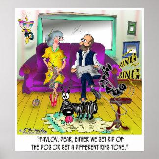 Pavlov's Ring Tone Poster