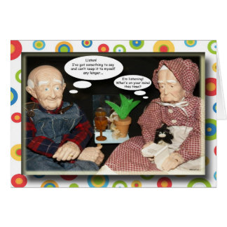 Paw and Maw Thank You Greeting Card