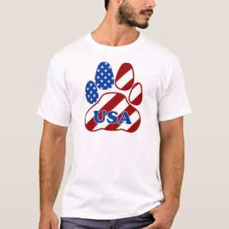 PAW FLAG USA.png T-Shirt