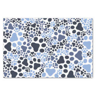 Paw pad camouflage tissue paper