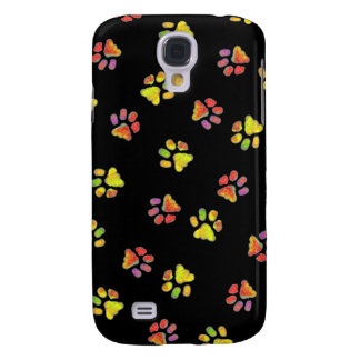 Paw Painting Galaxy S4 Covers