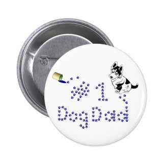 Paw Print #1 Dog Dad Pin