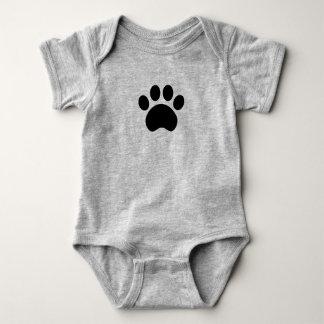 Paw Print Baby Bodysuit