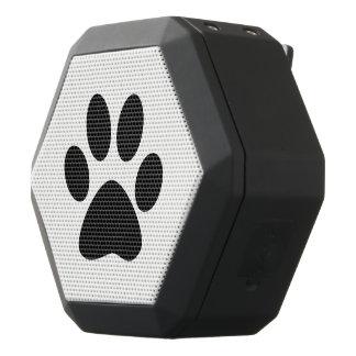 Paw Print Black Bluetooth Speaker