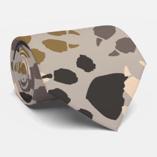 Paw Print Camo Tie