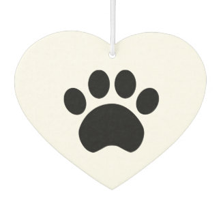 Paw Print Car Air Freshener