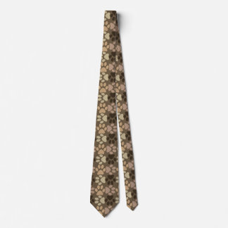 Paw Print Design Tie