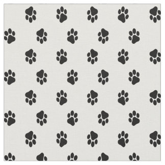 Paw Print Fabric, Animal Prints - Dog or Cat Fabric