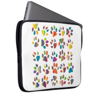 Paw print laptop case
