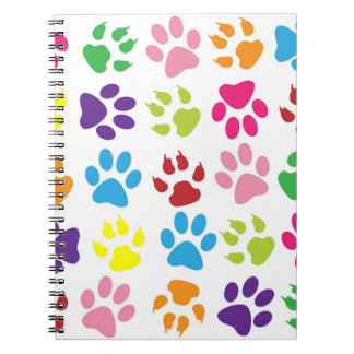 Paw Print Notebook