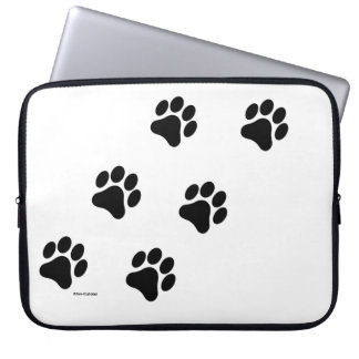 Paw Print Pattern Computer Laptop Sleeve