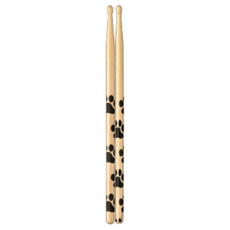 Paw Print Pattern Drum Sticks