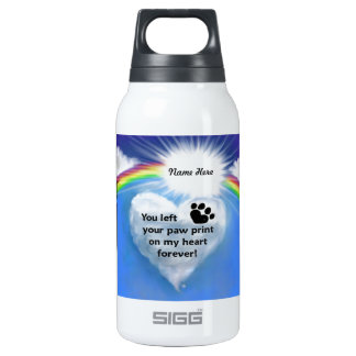 Paw Print Poem 0.3 Litre Insulated SIGG Thermos Water Bottle