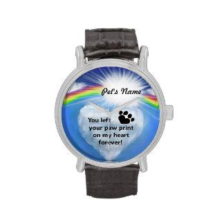 Paw Print Poem Watches