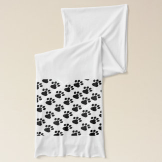 Paw Print Scarf for Dog Lovers Classic Ideal Gift
