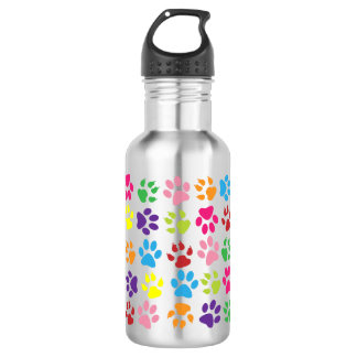 Paw Prints 532 Ml Water Bottle
