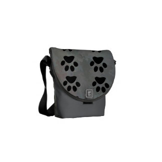 PAW PRINTS COURIER BAGS
