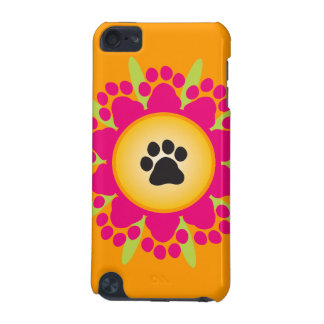 Paw Prints Flower iPod Touch 5G Case