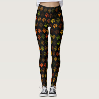 Paw Prints in Colour! Leggings