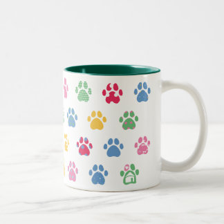 Paw Prints Luxury Mug