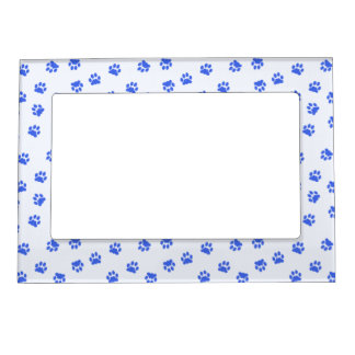 Paw Prints Pattern Magnetic Frame