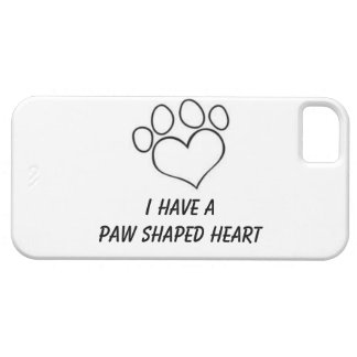 Paw Shaped Heart IPhone 5/5s Case