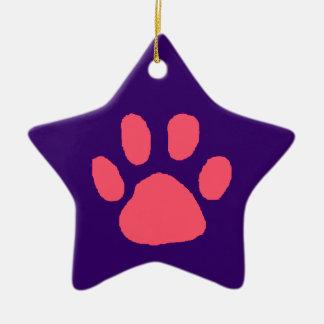Paw Star Ornament