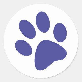 Paw Round Sticker