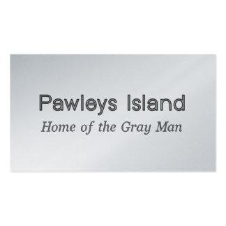 Pawleys Island Gray Man Business Card