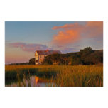 Pawleys Island Marsh Photo Poster