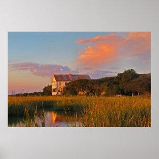 Pawleys Island Marsh Photo Poster