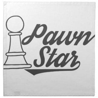pawn star chess club napkin