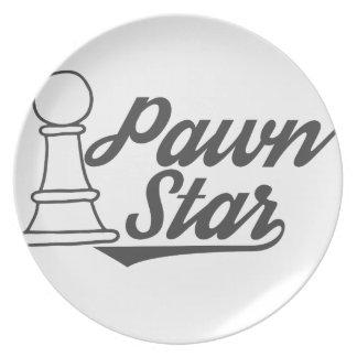 pawn star chess club plate