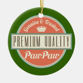 Pawpaw (Funny) Gift Ceramic Ornament