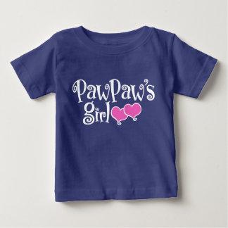 PawPaw's Girl Baby T-Shirt