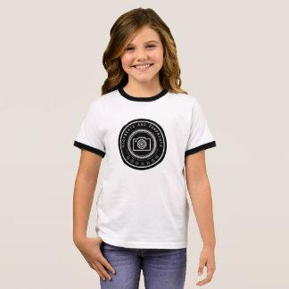 Pawprint Camera Girl's T-Shirt
