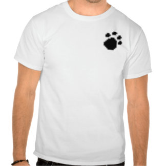 pawprint, Fast and Friendly Dog Waste Removal S... T Shirt