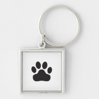 Pawprint Key Ring